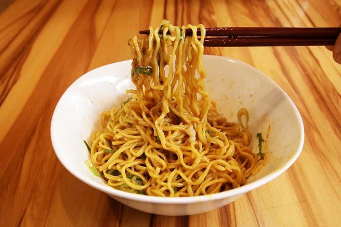 汁なし担々麺3